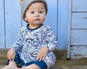 Menagerie Organic Cotton Onesie Romper Sleepsuit