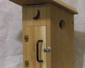 Outhouse birdhouse #6