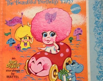 Vintage Mattel Tickle Pink and the Beautiful Birthday Party , 1969