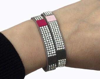 Thin Suede Bracelets