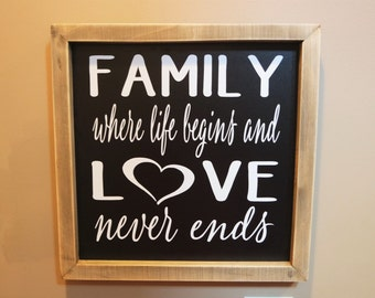 Shabby Chic Chalkboard Sign, Chalkboard Sign, Chalk Board Sign, Family Sign