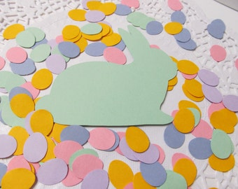 250 Easter Egg Confetti, Birthday Party, Spring Fling, Easter Holiday, Table Scatter, Baby Shower, Tablescape Decor