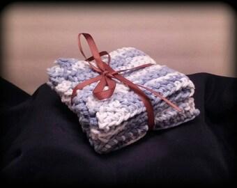 Hand Crocheted 100% Cotton Washcloths