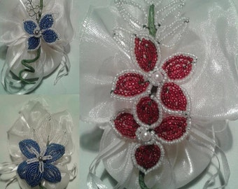 beaded wedding favors