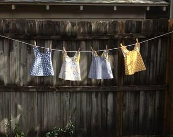 Baby Pinafore Dress // Toddler Pinafore // Pinafore Tunic