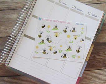 Decorative Bees Knees Stickers