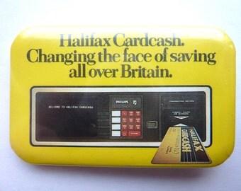 VINTAGE Halifax Cardcash badge