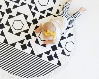 Cotton Dot Playmat for Babies