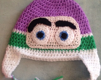 Buzz lightyear toy story inspired hat