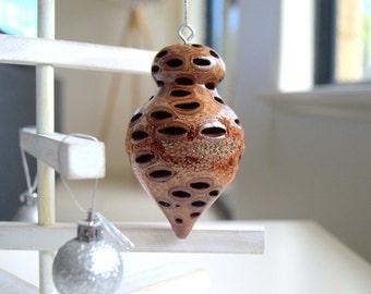 Christmas decoration - christmas ornament, tree decoration, australian gift, australian christmas, unique gift, hanging ornament, banksia