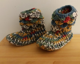 Child's Crochet Booties