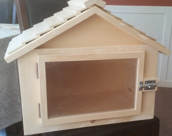 Bungalow Little Free Library / Canada / Book Exchange / Free Little Library / Little Pantry