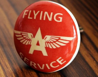 Flying A Service Ceramic Knob/Drawer Pull