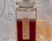 Caron Pois de Senteur Chez Moi 3 ml. Decant Pure Parfum Extrait Baccarat 1927 Paris France ..