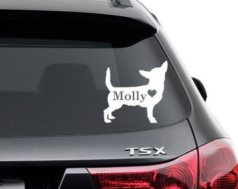 Chihuahua Dog Decal