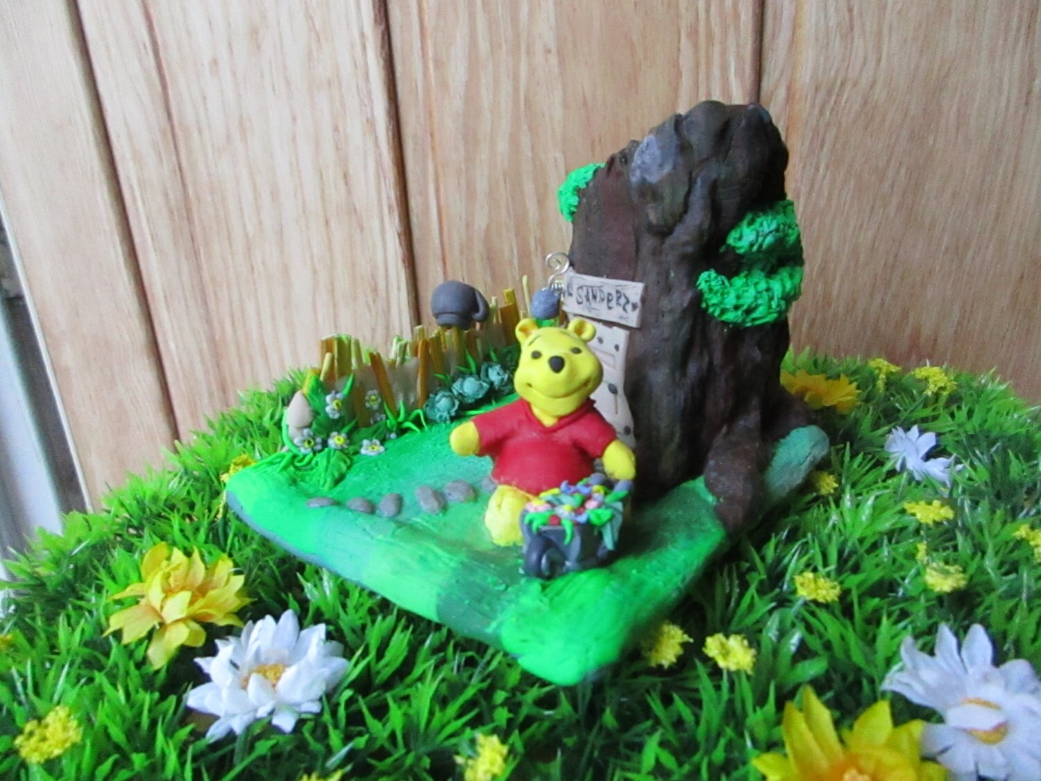 winnie the pooh miniature house and garden of winnie by