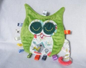 Little owl labels