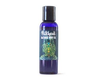 Patchouli Body Oil: Moisturizing Natural Therapeutic Grade Body Moisutizer