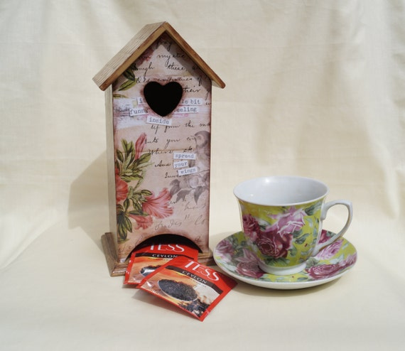 wooden tea bags holder memories tea house box wooden tea box. Black Bedroom Furniture Sets. Home Design Ideas