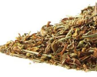 Certified Organic St. John's Wort - Dried Herb - 4oz