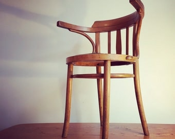 Vintage Bentwood Chair // Mid Century Retro style