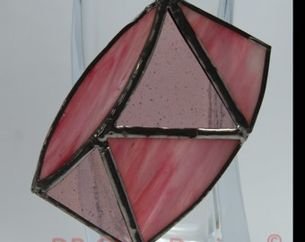 Handmade Stained Glass Drum