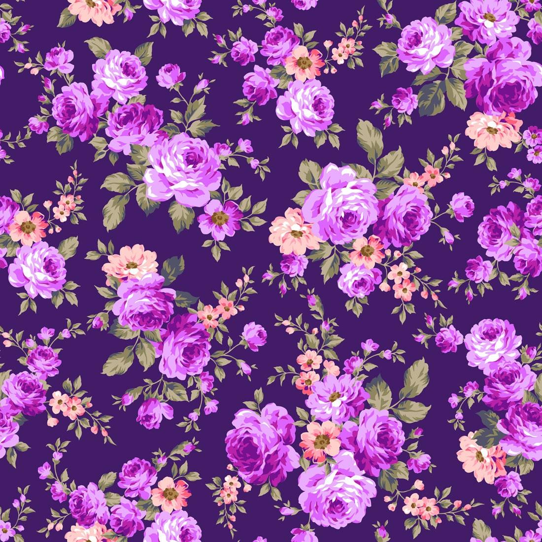 Purple Flower Backdrop