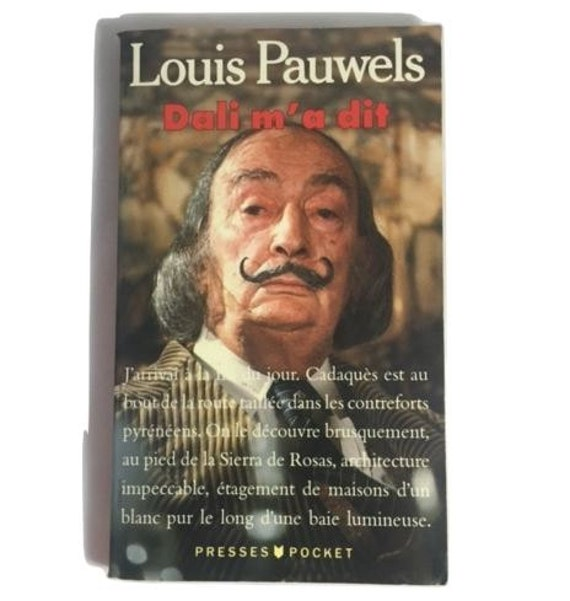 Dali M'a Dit - French paperback of interviews and behind-the-scenes with Dali