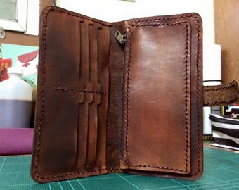 Craftleather Long wallet