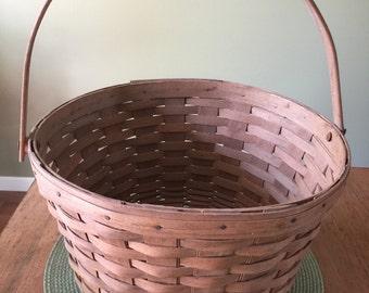 Vintage Handmade Longaberger Fruit Basket