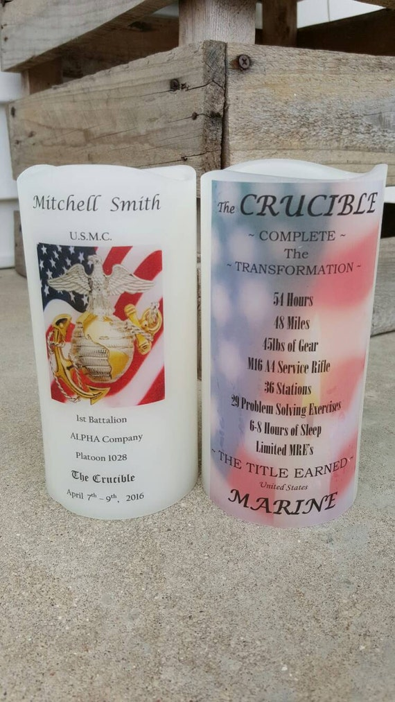 Marine Corps Crucible Candle Have It By Unitedbycandlelight