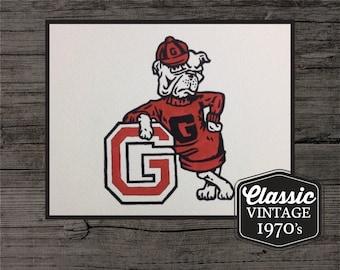Georgia Bulldogs Painting