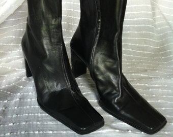 Enzo Angiolini Vintage 90s boots with zipper