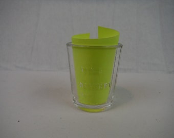 1960's miniature Measuring Glass for 'Table-Dessert-Tea'-Vintage-Collectible-Decorum-Usable