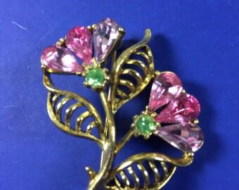 Hobe Flower Brooch