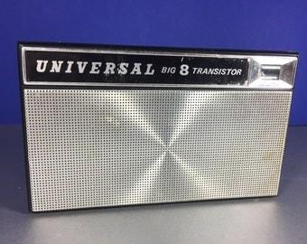 Universal Big 8 Transistor Radio