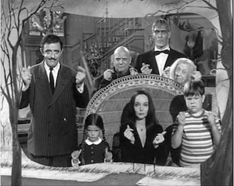 Addams Family Magnet 2x3