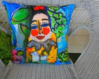 Geisha girl cushion Cover