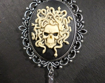 """Necklace fantasy """"The coat of arms of Medusa"""""""