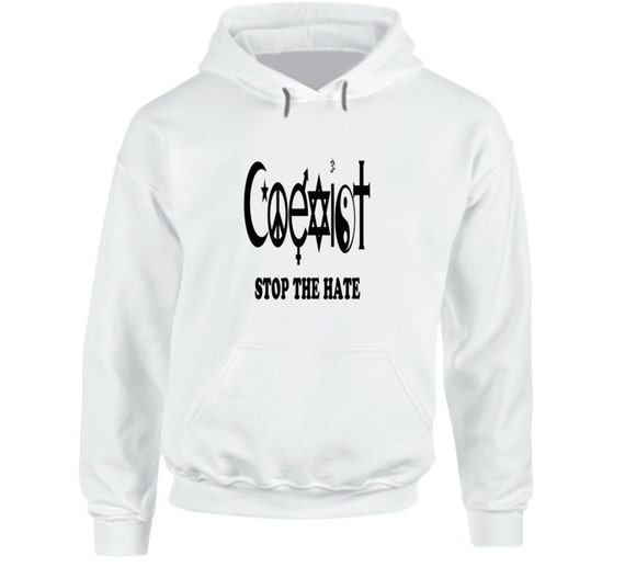 Coexist Hoodie (Assorted Colors)