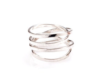 Demi -  Sterling Silver Ring
