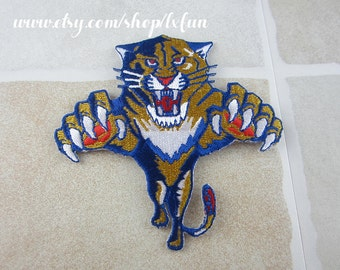 Embroidered Tiger Patch Iron/Sew On
