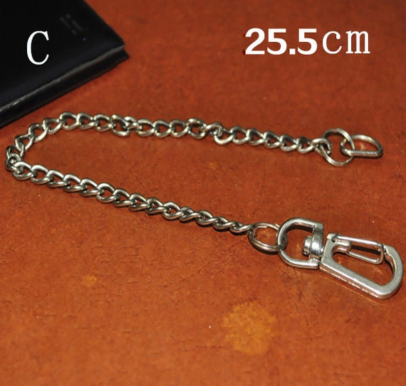 Metal purse chain strap connector replacement