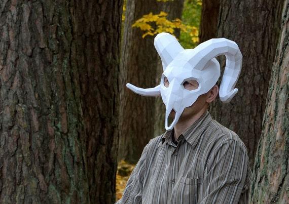 Ram Mask  Ram Skull Ma...