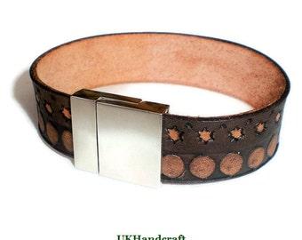 Mens Leather Bracelet, Mens Leather Bracelet Black, Mens Leather Band Bracelet, Mens Leather Bracelet Cuff, Mens Leather Bracelet Band, Cuff