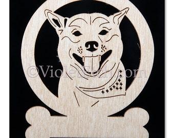 Shiba Inu-Shiba Inu Ornament-Shiba Inu Gift-Free Personalization