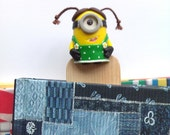 Minion Bookmarks. Minions friends in dress. Very funny minion, which will raise the mood of everyone around. A great gift for all.