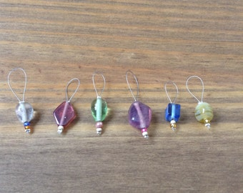Beaded stitch markers 1