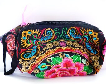 Oriental cosmetic /make-up / clutch bag