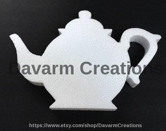 Teapot Styrofoam Polystyrene,Teapot Tea Party,Alice Teapot,Teapot Party Decorations,Tea party centerpiece, Teapot